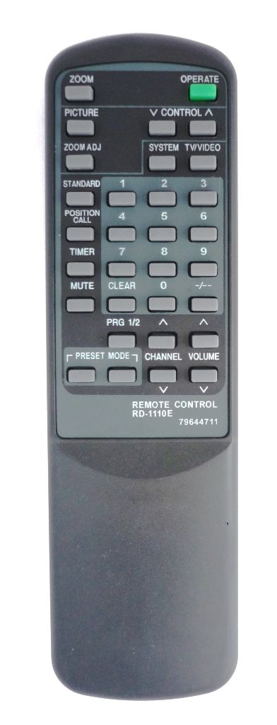 NEC RD-1110E (TV) (21C08RNZ/SNZ, 21C09TNZ, 21T543R, CT-1417, CT-142, CT-1433SK, CT-1450, CT-14ES, CT-2022SK, CT-2050ATM, CT-2051MH, CT-20AV, CT-2120X, CT-2121SGX, CT-21AV, CT-21RD)