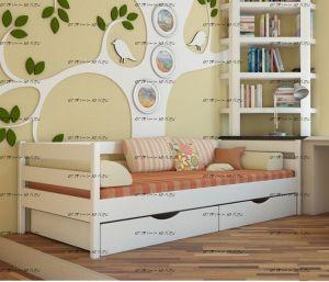 Кровать Соня №ДИ, любые размеры