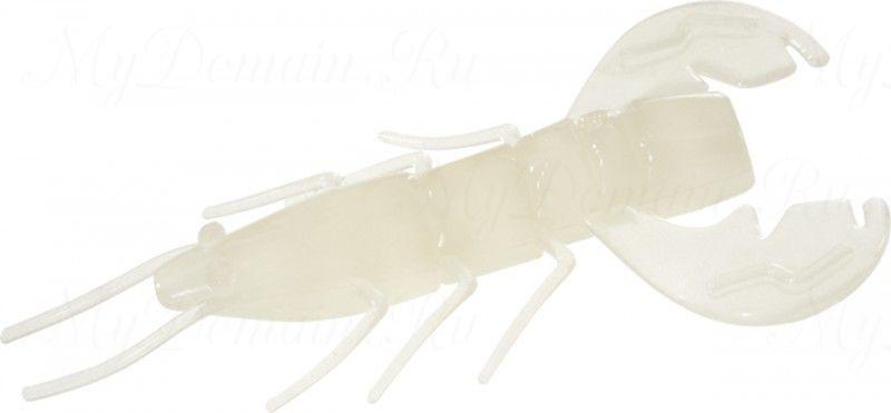 Рачок MISTER TWISTER Exude Fan Tail Shrimp 6 см. уп. 5 шт. LS (съедобная, люминесцентный) фирменная упак. NEW
