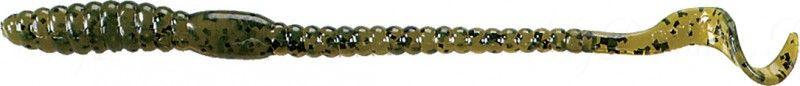 Червь MISTER TWISTER Phenom Worm 15 см уп. 20 шт. 14BK (прозрачно-зеленый с черными крапинками)