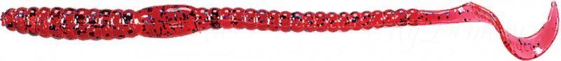 Червь MISTER TWISTER Phenom Worm 15 см уп. 20 шт. 9BS (слива с синими блестками)