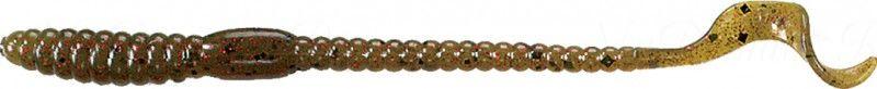 Червь MISTER TWISTER Phenom Worm 15 см уп. 10 шт. 14RBK (прозрачно-зеленый с красными блестками) фирменная упаковка