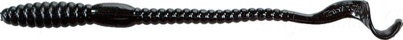 Червь MISTER TWISTER Phenom Worm 15 см уп. 10 шт. 3 (черный) фирменная упаковка
