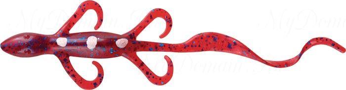 Ящерица MISTER TWISTER Super Lizard 15 см 9BS-Plum уп. 15 шт. NEW