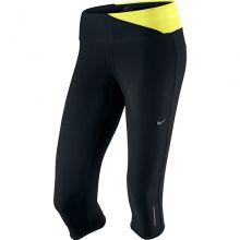 Женские леггинсы 3/4 Nike Twisted Capri чёрные