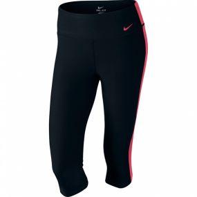 Женские леггинсы 3/4 Nike Advantage Tight Polyester Capri чёрные
