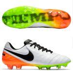 Футбольные бутсы Nike Tiempo Legend VI FG белые