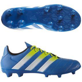 Бутсы adidas Ace 16.3 Leather FG/AG синие