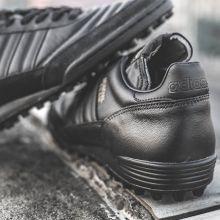 Шиповки для футбола adidas Mundial Team чёрные