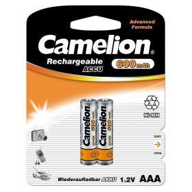 Camelion аккумулятор AAA 600ma/h Bl-2/24/ ЦЕНА ЗА 1 ШТ! В УП 2 ШТ.