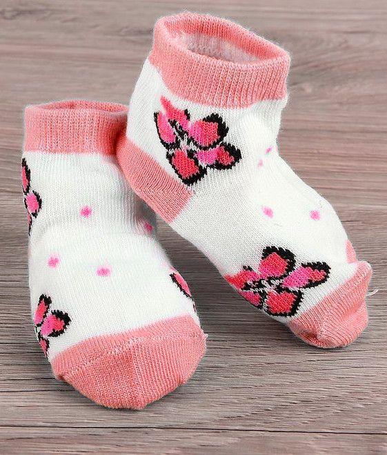 Белые носочки для девочки 2-3 лет