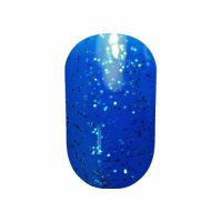 Гель-лак Tertio #078 (яркий синий с блеском), 10 мл