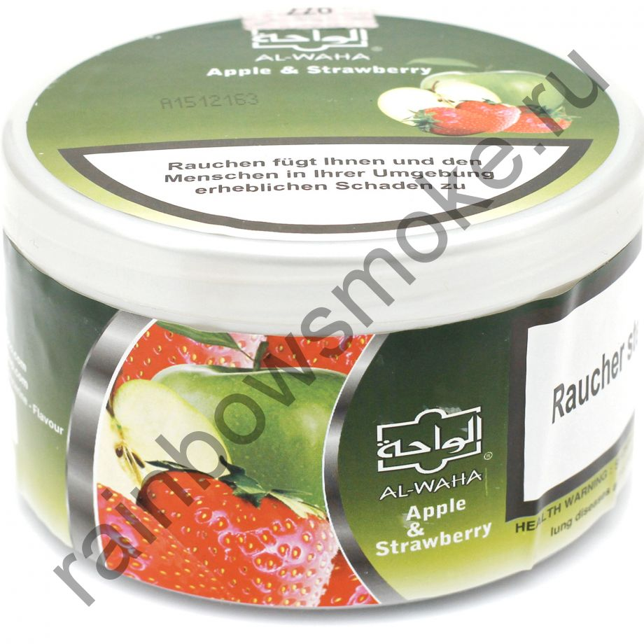 Al Waha 250 гр - Apple & Strawberry (Яблоко и Клубника)
