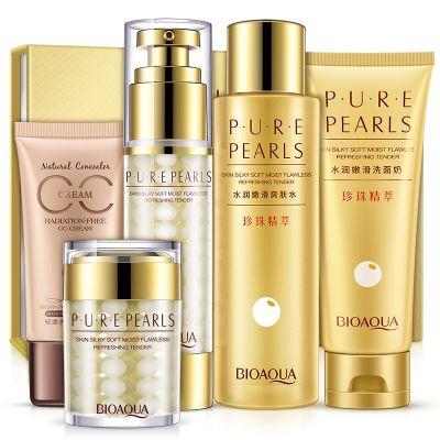 Косметический набор комплекс для лица Pure Pearls Bioaqua