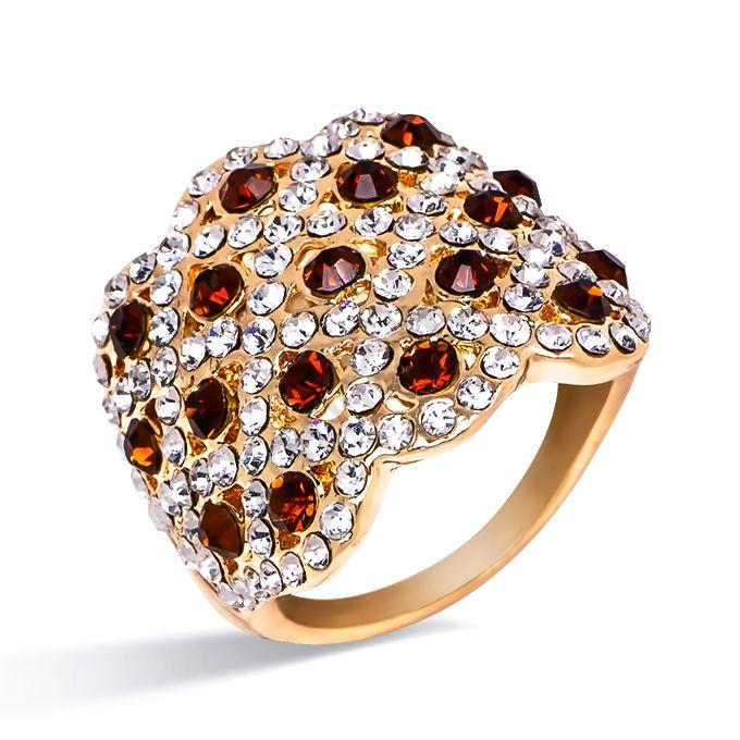 Кольцо Queen 37252-1745. Кольцо Под золото