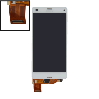 LCD (Дисплей) Sony D5803 Xperia Z3 Compact/D5833 Xperia Z3 Compact (в сборе с тачскрином) (white) Оригинал