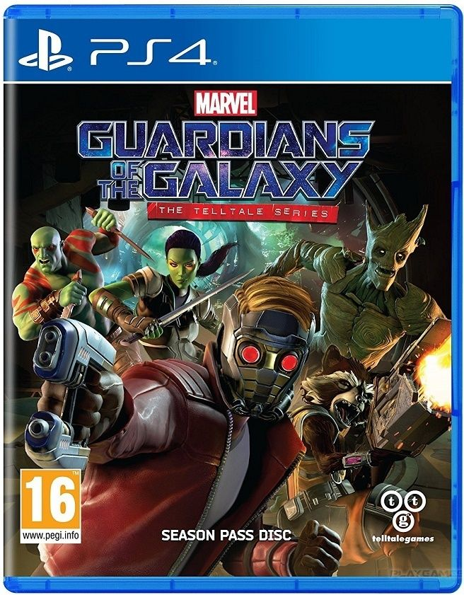 Игра Guardians of the Galaxy (PS4) Стражи галактики