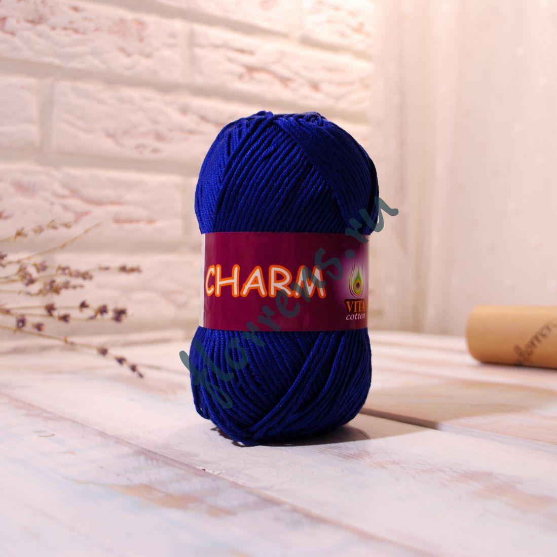 Пряжа Charm / 4158 синий