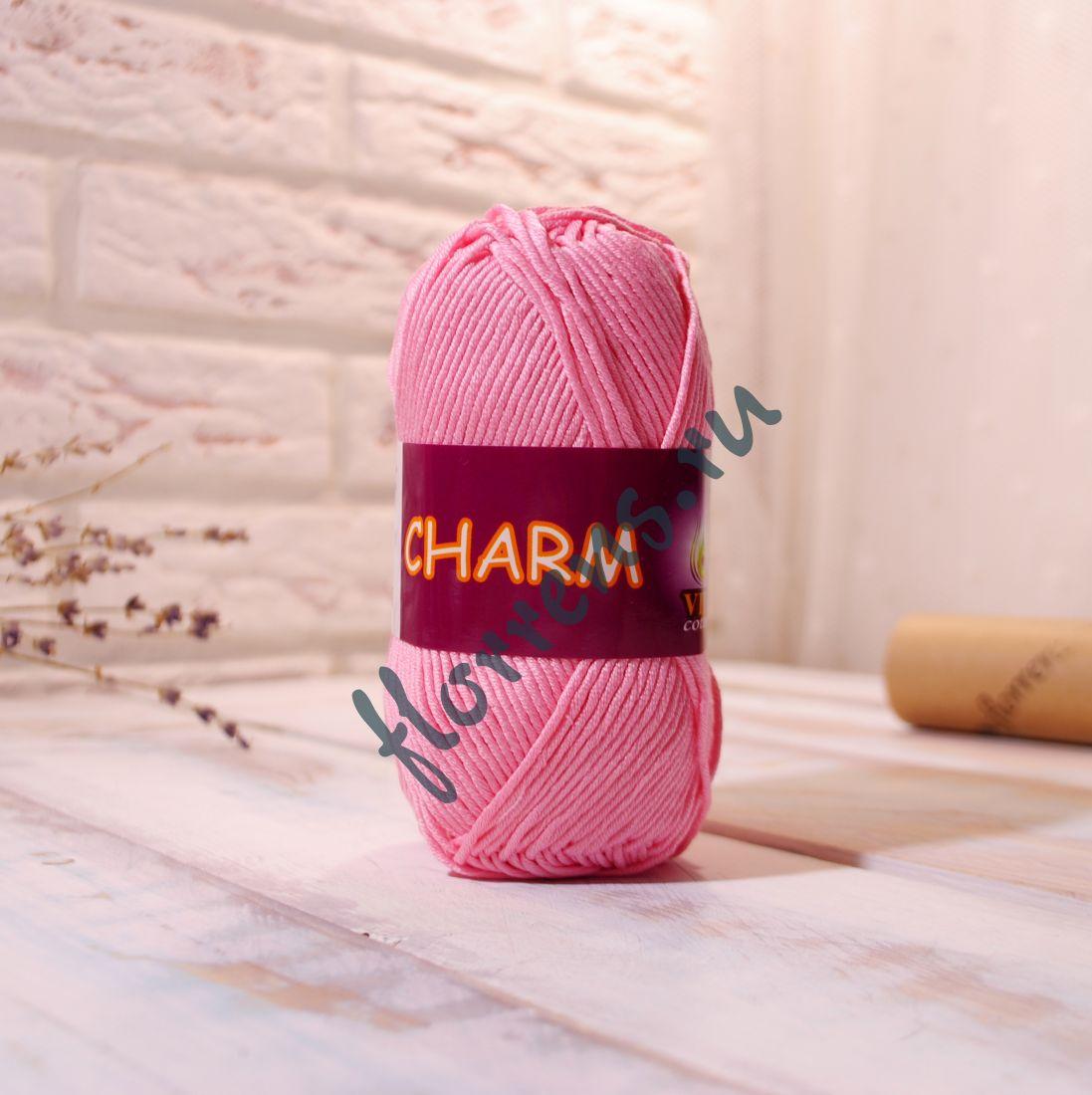 Пряжа Charm / 4182 св.розовый