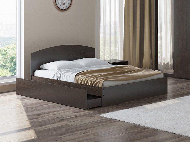 Кровать Этюд Плюс с ящиком для белья | Орматек