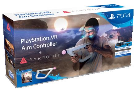Игра Farpoint + Aim Controller (только для PS VR) (PS4, русская версия)
