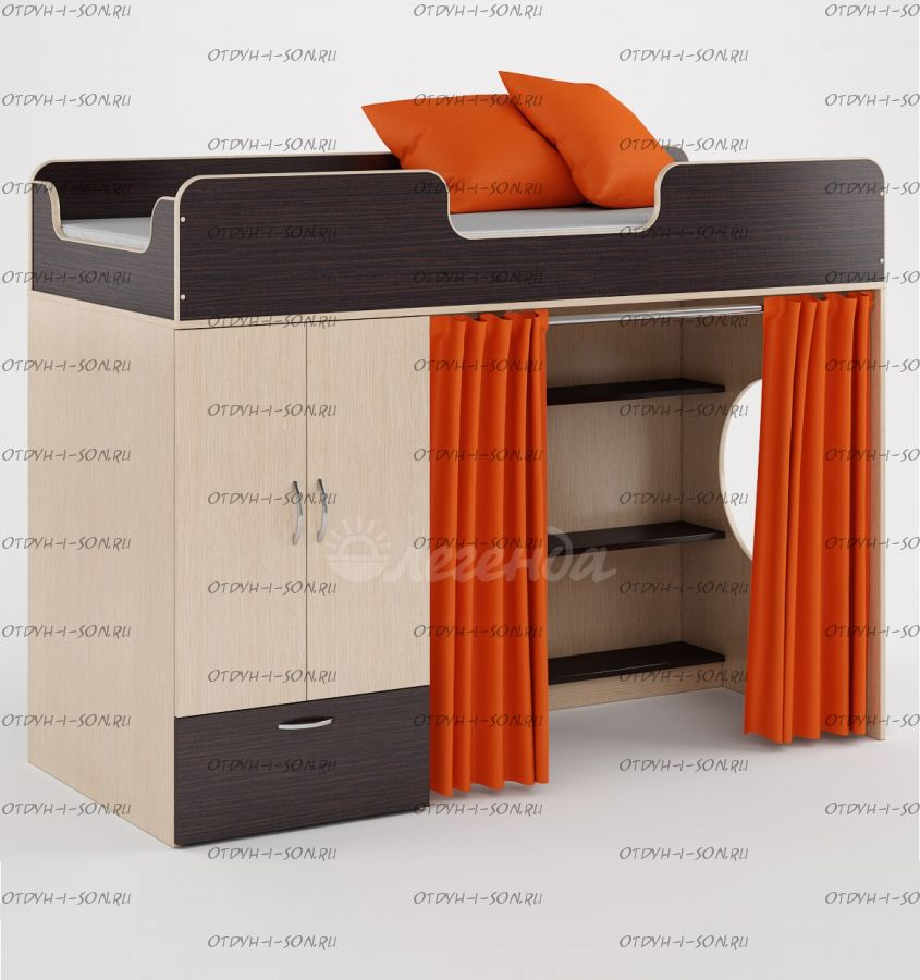 Кровать-чердак Легенда-3.0