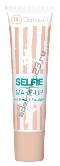 Dermacol / База под макияж и тональный крем 2 в 1