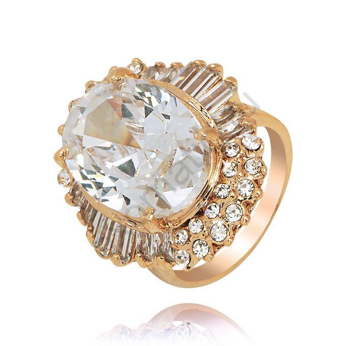Кольцо Queen 37509-9529. Кольцо Под золото
