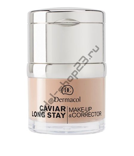DERMACOL / CAVIAR LONG-STAY MAKE-UP & CORRECTOR