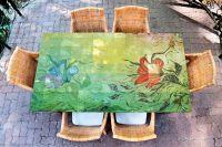 Наклейка на стол - Отражение | Купить фотопечать на стол в магазине Интерьерные наклейки