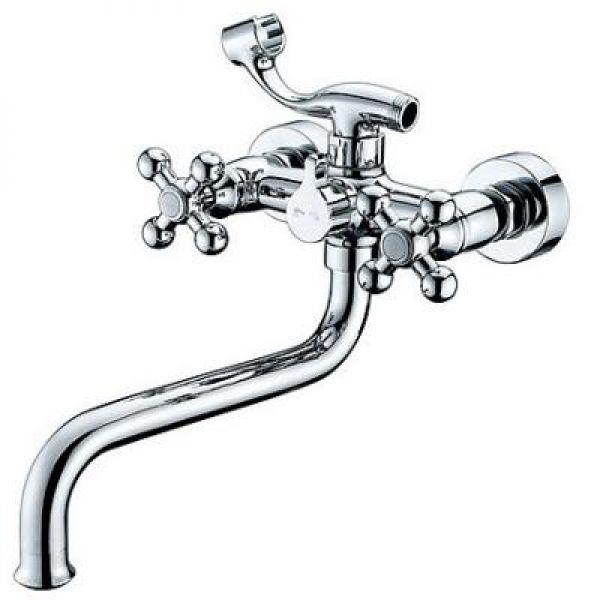 Kaiser Carlson Lux 11255 Смеситель для ванны с длинным изливом
