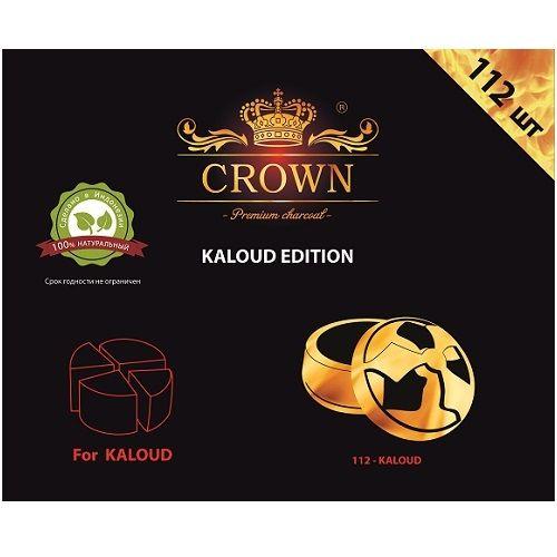 Уголь Натуральный Кокосовый Crown Kaloud 112 шт