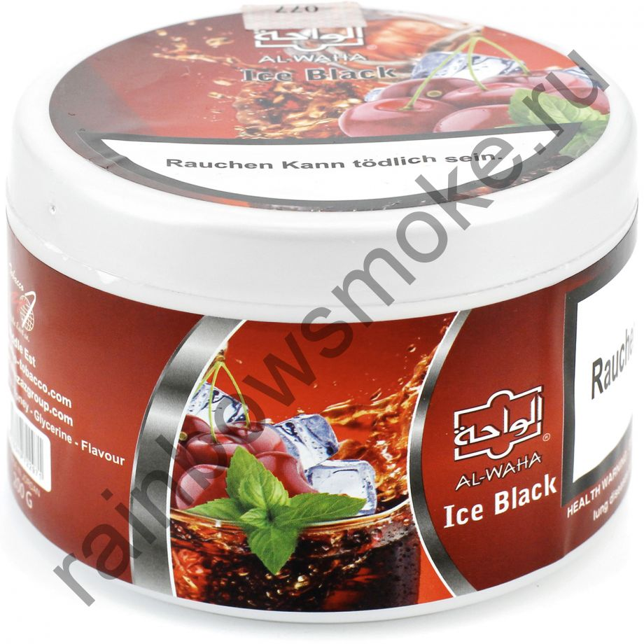Al Waha 250 гр - Ice Black (Черный Лед)