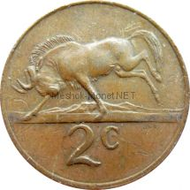 ЮАР 2 цента 1981 г.