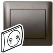 Накладка TV-FM розетки Legrand Galea Life Dark Bronze (арт.771272)