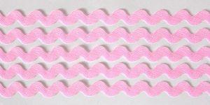 `Тесьма вьюнчик, ширина 5 мм,цвет: светло-розовый