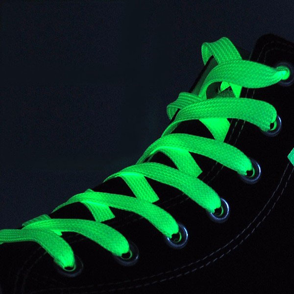 Светящиеся шнурки в подарок к основному заказу