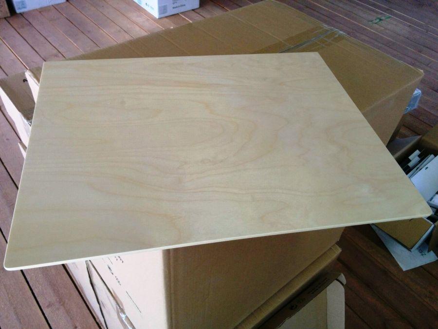 Крышка для полки аксессуаров, светлое дерево, серия 460, L=607