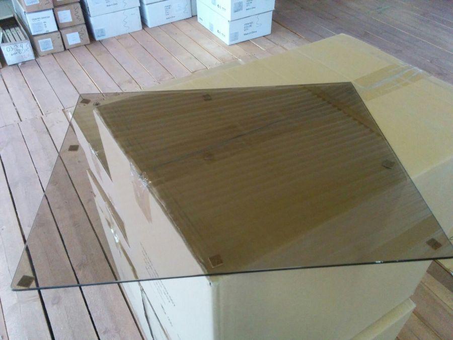 Крышка для полки аксессуаров, стекло, серия 460, L=607