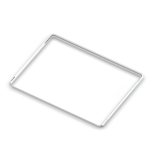 Рамка для корзин выдвижная,  серия 460, L=550, белый