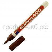 Маркер перм.1мм коричневый 400-07 Edding