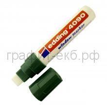 Маркер д/стекла водн.осн.4-15мм 4090-04 зеленый Edding