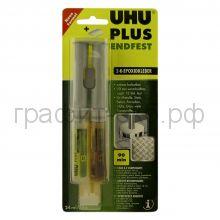 Клей унив.25мл.UHU эпоксидный в шприце 45585