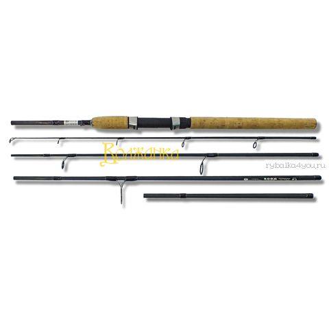Купить Спиннинг Волжанка Вояж IM8+жесткий тубус 2,4/2,7 м / тест 10 - 40 гр