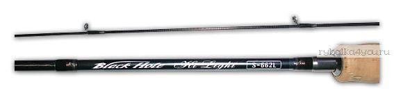 Спиннинг Black Hole Hi-Light S-662L EXTRA 1.98 м / тест 2 - 7гр  - купить со скидкой