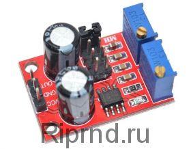 Генератор импульсов 555 с регулировкой частоты и скважности