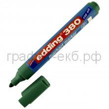 Маркер д/флипч.зеленый 380-04 Edding