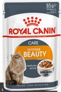 Royal Canin Intense Beauty Влажный корм для поддержания красоты шерсти кошек (в соусе) (85 г)