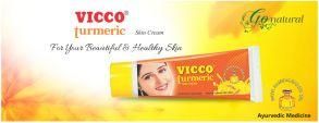"""Крем с куркумой и сандаловым маслом """"Викко""""(Vicco Turmerik skin cream), 15 гр"""
