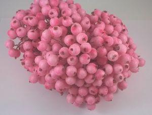 `Ягоды в сахарной обсыпке 12 мм (длина 16см). 1 уп = 40 ягодок ( 20 веточек)